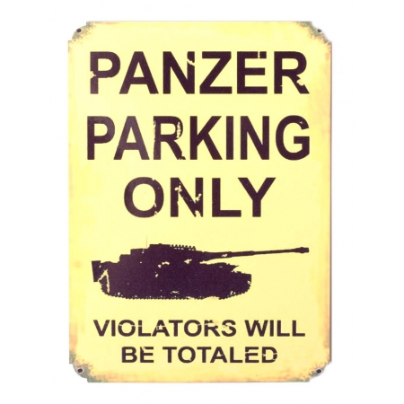 Магнит на холодильник «PANZER PARKING ONLY»